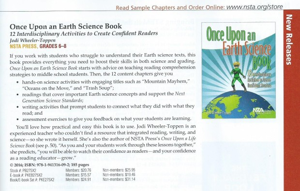 Once Upon Earth NSTA catalog