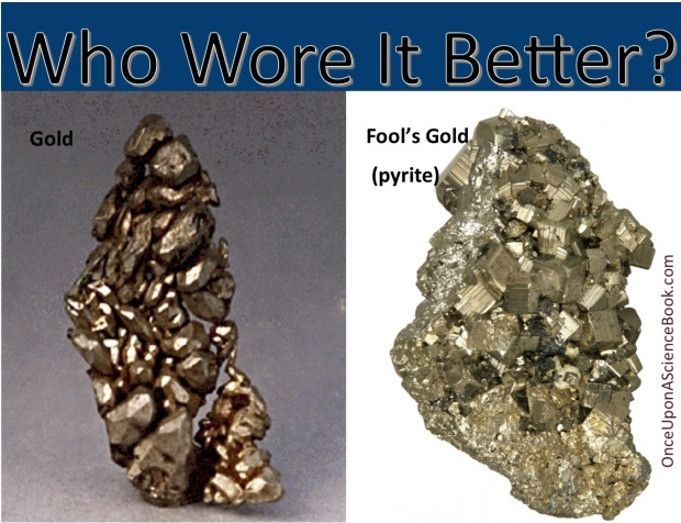 Who wore it better gold